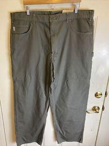 Carhartt Canvas Carpenter Gray Jeans 42x32 B159-DMS Loose Original Fit NWT!