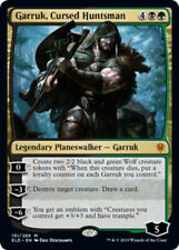 1x Garruk, Cursed Huntsman - Foil NM-Mint, English Throne of Eldraine MTG Magic