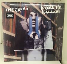 The Cribs Ignore The Ignorant - Limited 180 gram LP Johnny Marr Smiths - Sealed