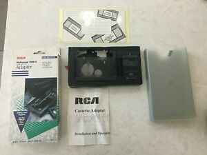 RCA Universal VHS-C Cassette Adapter VCA115 Fits RCA GE JVC Magnavox and More