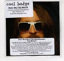 (GM990) Dave McCabe & The Ramifications, Let Me Go - 2015 DJ CD