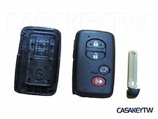 NEW 4 BUTTON SMART KEY CASE SHELL FOB FOR Toyota Rav4 Highlander Prius CT41