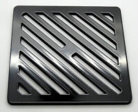 NEW 3 X 160mm x 160mm Square Gully Grid Black Each FreePost.UK