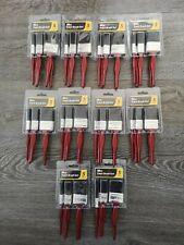 10 x Packs of 5PC Paint Brush Fine Brushes Set Advanced Bristles Decorating DIY