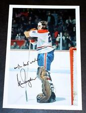 Beautiful Ken Dryden Montreal Canadiens Signed Photo !