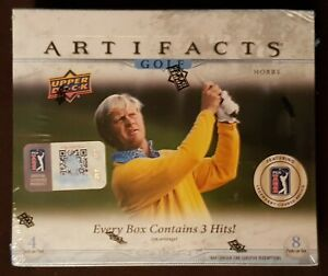 2021 Upper Deck Artifacts Golf Hobby box - factory sealed