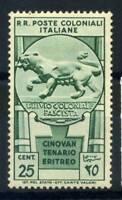 Emissioni Generali 1933 Sass. 25 Nuovo * 100% Eritreo