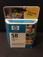 3-Pack NEW GENUINE HP 58 Tri-color Photo Ink Cartridge C6658AN Expired SEALED