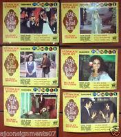 (Set of 9) Dünyanin en güzel kadini (Türkan Soray) Turkish Film Lobby Card 60s