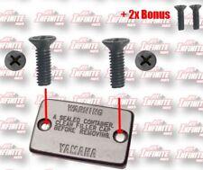 X4 Honda VFR800 Brake & Clutch Master Cylinder Reservoir Stainless Screws
