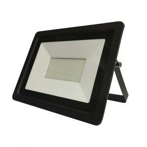 Projecteur LED Extérieur 100W IP65 Noir - Blanc Neutre 4000K - 5500K - SILAMP