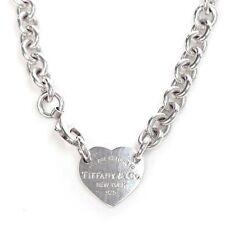 Tiffany & Co. Halsketten und Anhänger aus Sterlingsilber