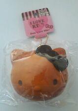 Licensed Hello Kitty Bread Face Bun Squishy (Brown)