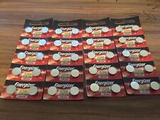 40 X Energizer LR44 A76 AG13 1.5V Button Cell Batteries SAME DAY SHIPPING