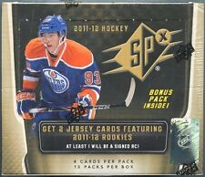 2011-12 Upper Deck SPX Hockey Factory Sealed Hobby Box (2012)