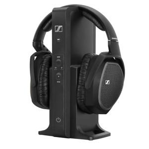 Sennheiser Over Ear RF Wireless Surround Sound TV Headphones RS 175 Refurbished