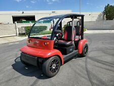 2002 Ford Think Red 4 Passenger Golf Cart