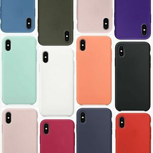 For Apple iPhone XR Xs Max X 8 7 Plus 6 Se 2020 Case Cover Phone Thin Gel