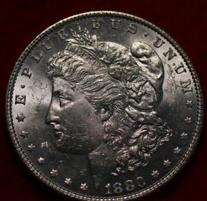 Uncirculated 1880 Philadelphia Mint Silver Morgan Dollar