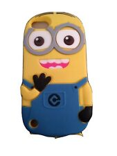 Cartoon Minion 'DAVE' Character Apple iPod Touch 5G Cover New Great Gift