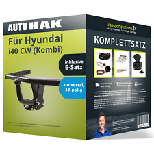 Anhängerkupplung starr HYUNDAI i40 CW Kombi ab 09.2011+E-SATZ 13p SPEZIFISCH
