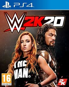 WWE 2K20 PS4 New Sealed
