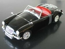 MG MGA MG-A black Interieur red diecast model car Revell 1/18