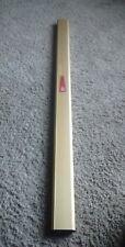 Rare Garcia Conolon Fishing Rod metal case for a 2 peice rod. Aluminum protecti