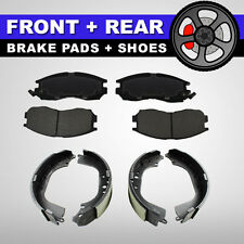 FRONT + REAR Ceramic Brake Pads + Shoes 2 Sets Toyota Camry 4 Cyl, Toyota RAV4