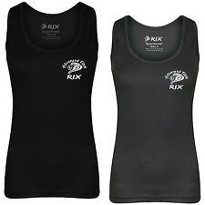 Rix Women Fitness Tank Top Running Gym Yoga Vest Ladies Casual Sleeveless Shirt