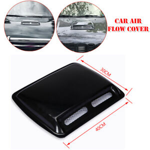 Car Engine Hood Air Flow Inlet Vent Cool SUV Front Grille Large Cover Universal