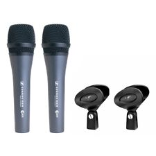 SENNHEISER E 835 coppia microfoni professionali x bag per canto parlato live