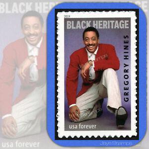 2019  GREGORY HINES  Black Heritage  Forever®  MINT Single USPS Stamp # 5349