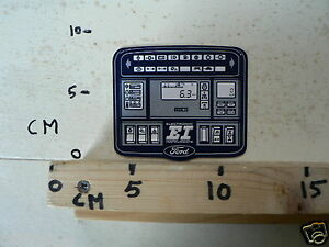 STICKER,DECAL FORD EI ELECTRONIC INSTRUMENTS CAR AUTO