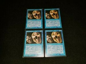 MTG 1x Revised blue rare MP Italian FBB Copy Artifact - Reserved List