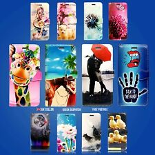 FOR APPLE IPHONE 5 5S PHONE CASE WALLET BOOK FULL SAFE CARD SLOTS COVER DESIGNS