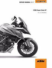 KTM Service Workshop Shop Repair Manual Book 2017 1290 Super Duke GT