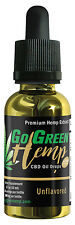 GoGreen Hemp - pure and natural - 1oz Tincture 250mg - Unflavored