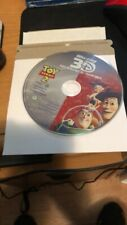 Toy Story 2 blu ray 3d disc only!.No Artwork!free shippng!