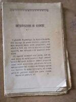 ANTICO LIBRO GIOCHI DI PRESTIGIO (NON INTERO)