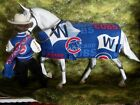 """Peter Stone/Breyer Traditional Model """"Fly the W"""" Chicago Cubs Barn Blanket"""