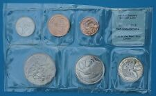 New Zealand 1968 Prooflike Specimen Set 6 PL BU Coins Royal Mint 40,000 Issued