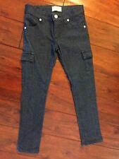 Persnickety Denim Cargo Skinny Jean Girl's Size 7 7T EUC
