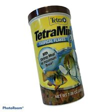 New listing Tetra TetraMin Plus Tropical Fish Food Flakes 7.06 oz, Clear Water,Color Enhance