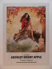 2011 Print Ad Absolut Vodka ~ Absolut Orient Apple Sexy Girl on Dragon