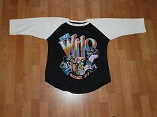 RARE The Vintage THE UK flag rock concert tou Raglan t-shirt vtg Who