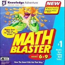 Math Blaster Ages 6-9 (Win, Mac) (Microsoft Windows)