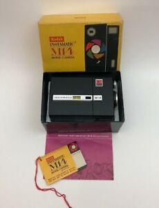 Vintage KODAK Instamatic M14 Super 8 Movie Camera with Box and Instructions