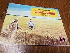 New ListingVintage International Harvester Farm Equipment Buyers Guide, 1964