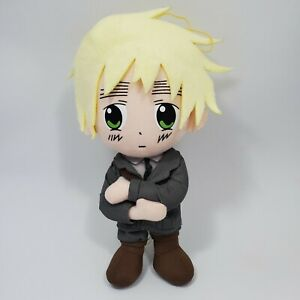 "Hetalia Axis Powers England 9"" Plush Toy 2008 Funimation Great Eastern Doll"